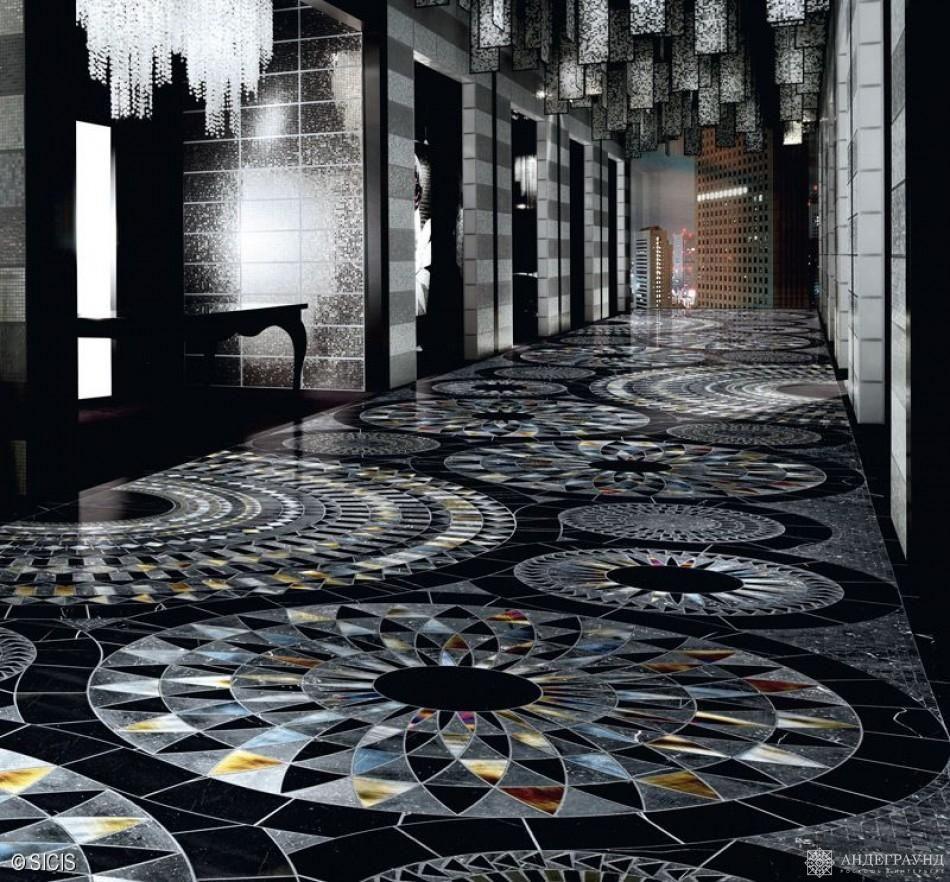Картинки мозаики на пол