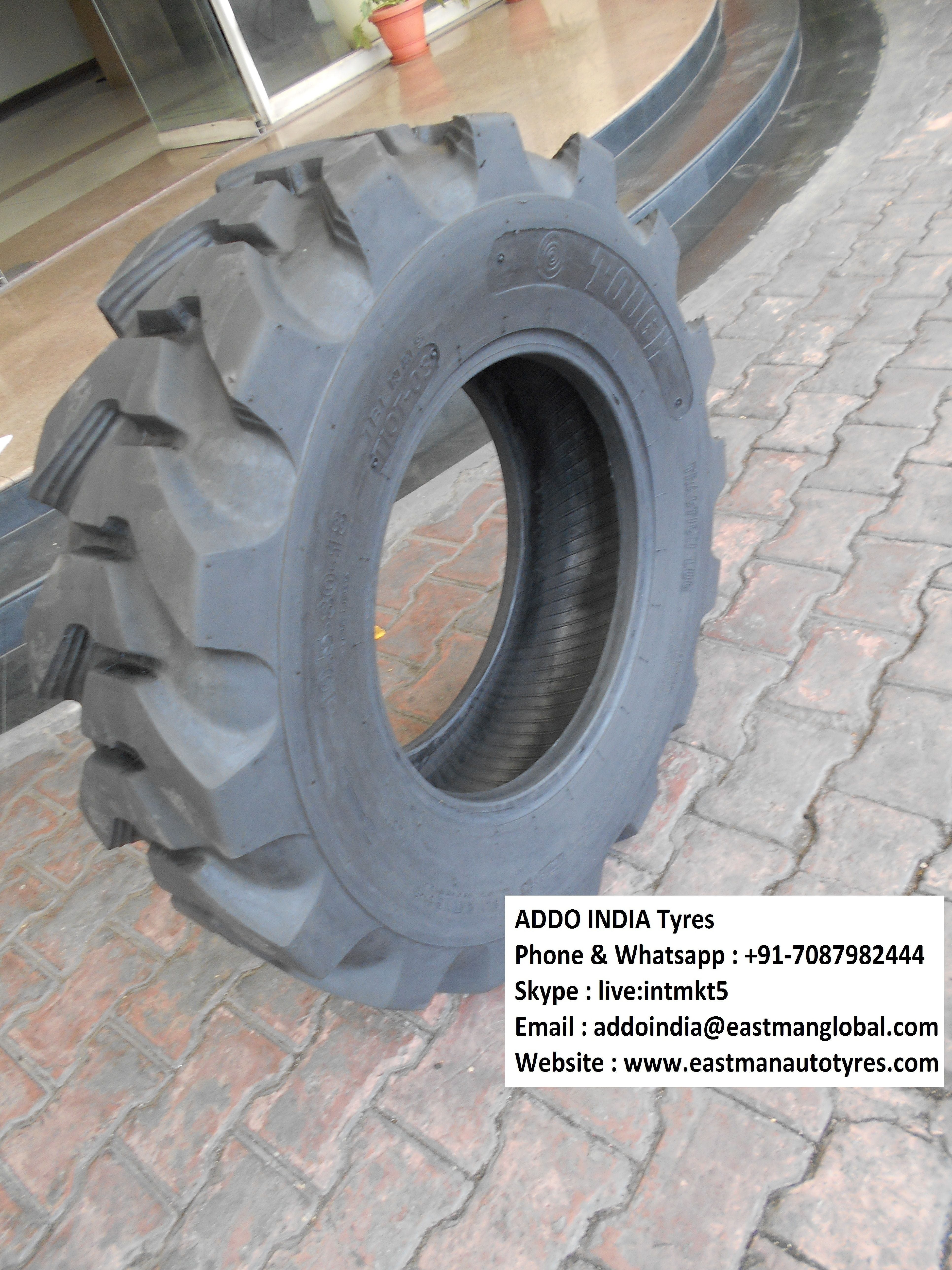 Addo India Tyres R4 Pattern Truck Tyres Truck Lights Tire