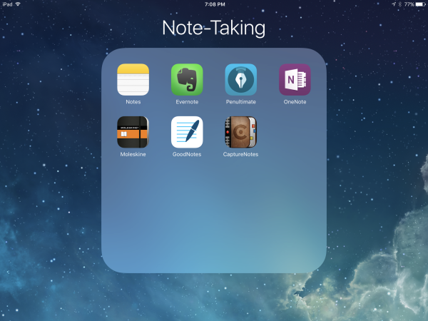 My Favorite iOS Apps for Taking Notes with iPad Pro and