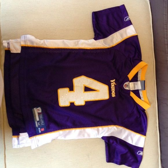 Reebok Minnesota Viking jersey. Youth football jersey. Excellent condition. Reebok Tops