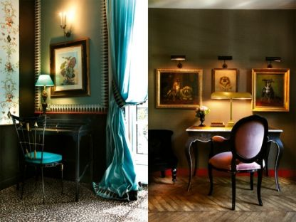 7 of the best hotels in Paris: Saint James, 43 Avenue Bugeaud, 75116 Paris.   The neoclassical mansion? began life in 1892 ?as a boarding school for university students on ?scholarships ?before becoming a gentleman's club in 1985. A private club has run concurrently since the conversion to a hotel in 1991.?From the grand black-and-white lobby to each of ?the 48 uniquely furnished rooms and suites, designer Bambi ?