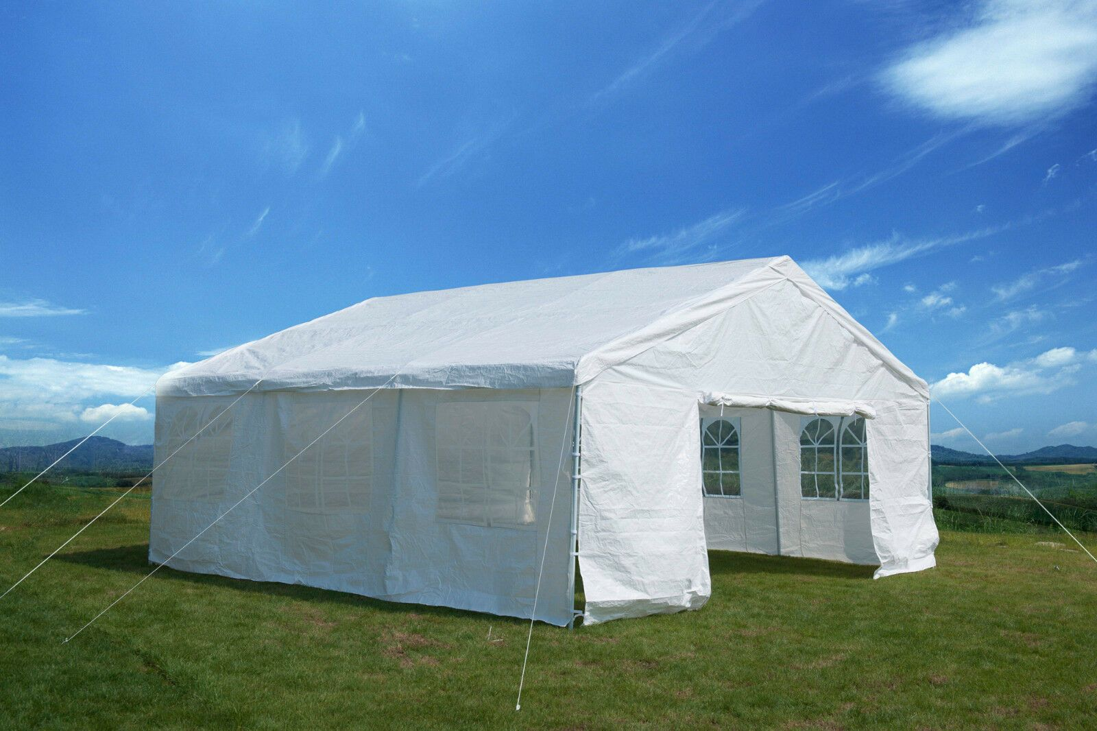 20x20 Heavy Duty Party Tent Outdoor Carport Canopy Gazebo Holiday