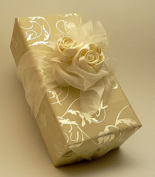Wedding Gift Packing Ideas: Color / BUTTERCREME- Warm