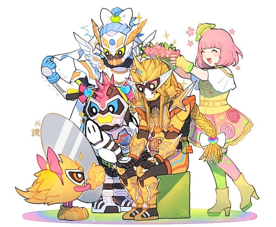 Pin oleh Kazki Kato di Kamen Rider Heisei & Neo Heise