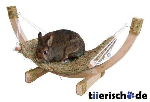 Kerbl Grashängematte SIESTA für Kaninchen und