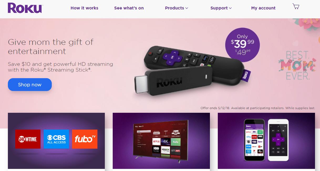 Roku Home Page Roku Private Channels Roku Channels Roku