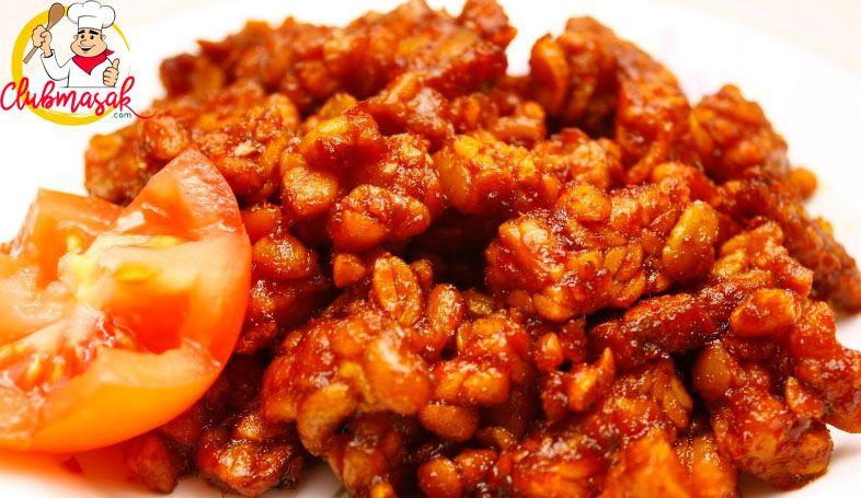 Resep Hidangan Lauk Tempe Masak Pedas Masakan Sehat Untuk Diet Club Masak Resep Masakan Masakan Indonesia