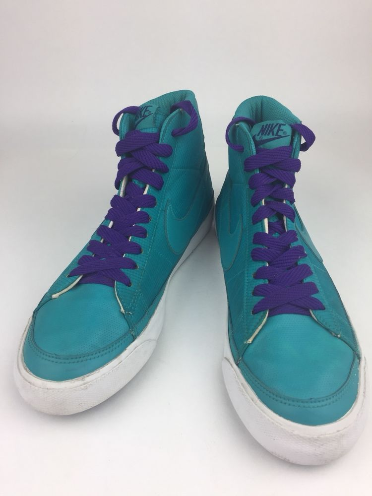 detailed look bb2d7 09185 Nike Blazer Mid Mens Turquoise Green High Top Sneakers Shoes Size 11   fashion  clothing  shoes  accessories  mensshoes  athleticshoes (ebay link)