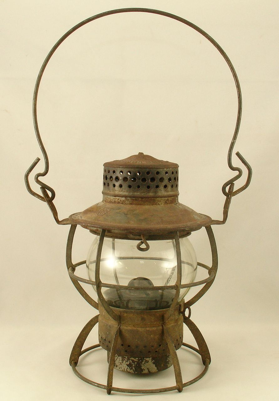 Nautical Lamp Ships Masthead Copper Lantern Port star board  Red Green Garden