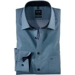 Photo of Olymp Luxor shirt, modern fit, New Kent, green, 38 Olymp