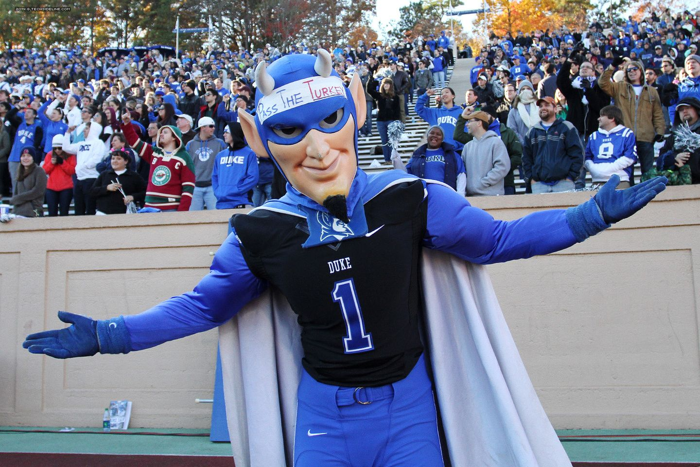 How did that work out for you Dukie?  2014.11.15. VT at Duke.
