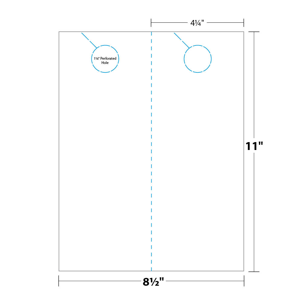 Door Hanger Measurements And Dimensions Gift Bags Pinterest - Free door hanger template