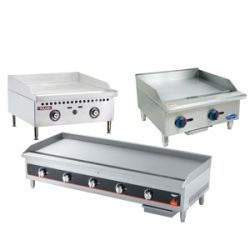 Commercial Countertop Griddles and Flat Top Grills | Commercial ...