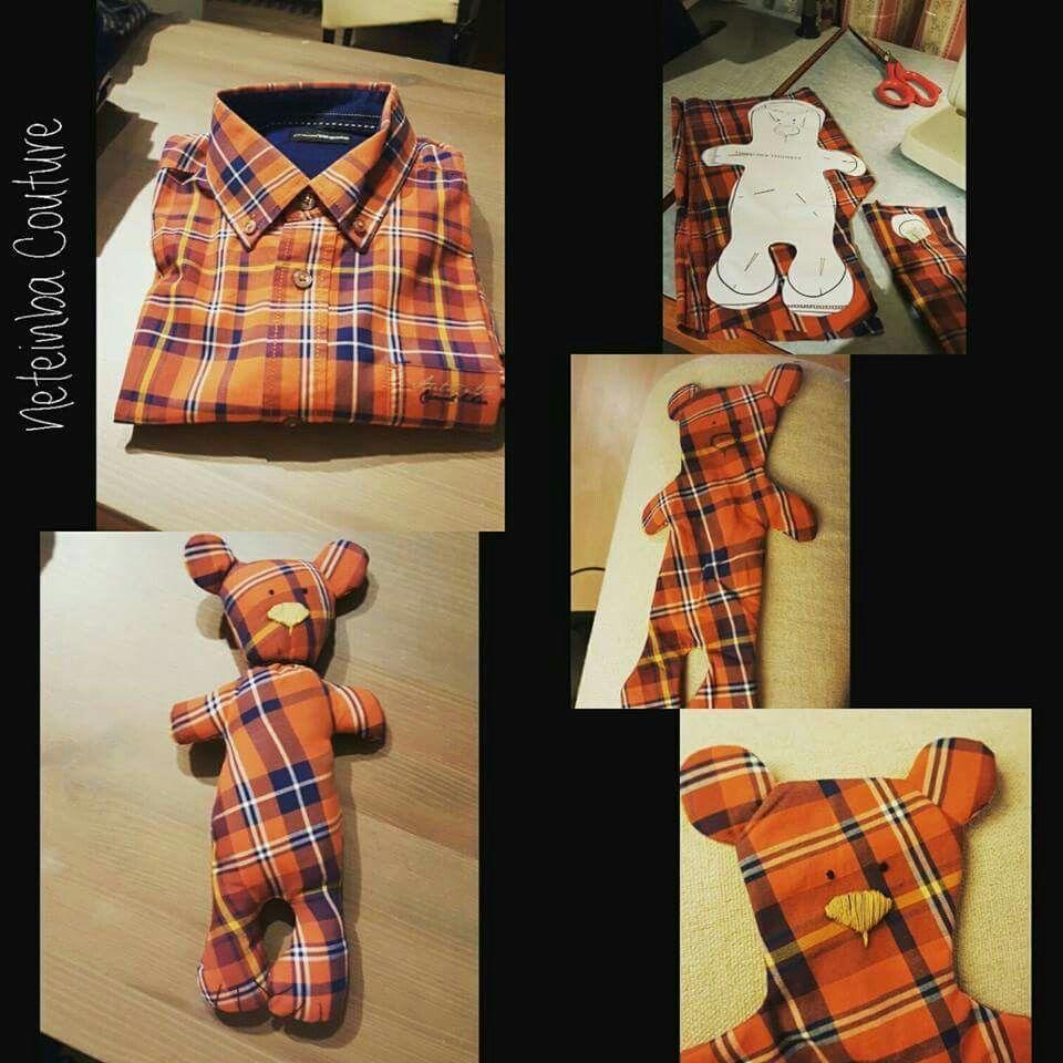 Ein Teddybär aus Papas Lieblingshemd oder Mamas Liebslingsbluse ist auch eine schöne Idee