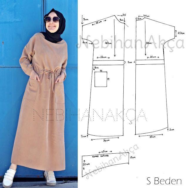 Ne Diktim: Beli Tünel Detaylı Elbise (Dikiş, Moda, Tasarım)