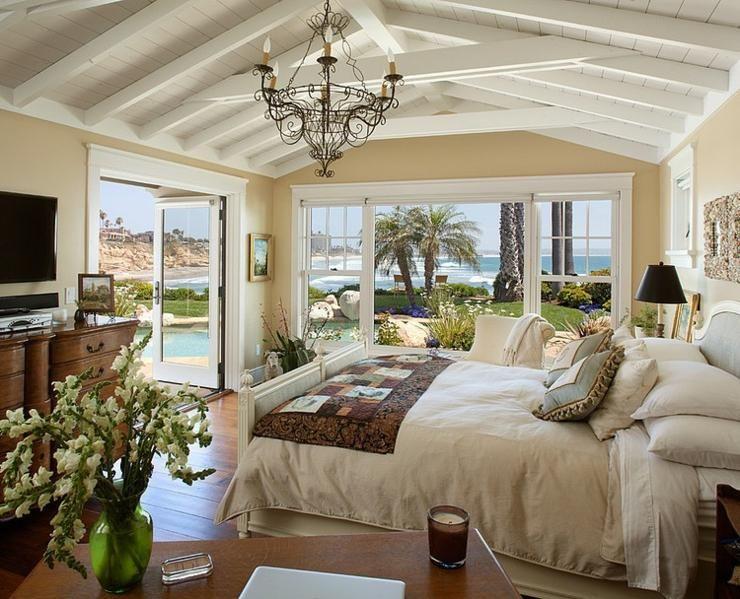 les plus belles deco maison de charme chambre coucher de la maison de vacances interieurs. Black Bedroom Furniture Sets. Home Design Ideas