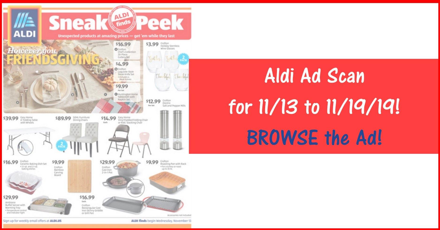 Aldi Weekly Ad 11 13 19