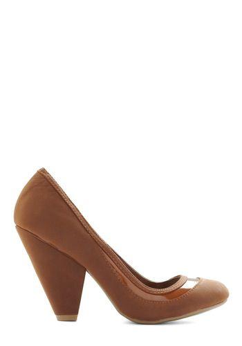 It's Never Too Latte Heel, #ModCloth