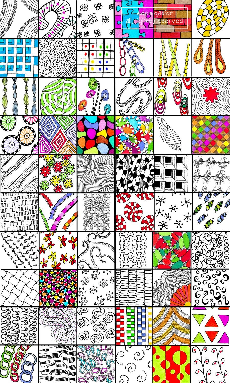 Doodle Directory Listing for all 6 Sets. por DrawDoodleDecorate ...