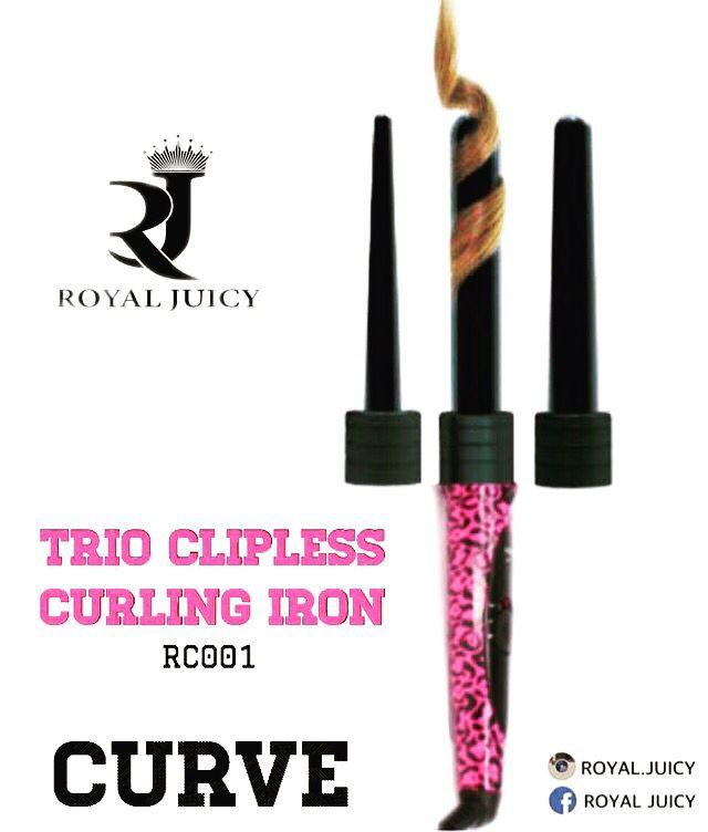 فير رويال جوسي بدون ملقط متعدد الرؤوس لقد قمنا بإعادة صياغة مكواة التلفيف التقليدية ونقلها إلى مرحلة أخرى م Clipless Curling Iron Eyeliner Curled Hairstyles