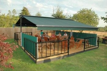 Butterfly Awnings from Markilux | Awning, Outdoor dining ...