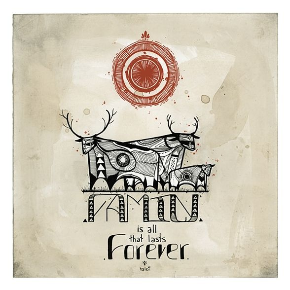 David Hale - Family is all that lasts Forever