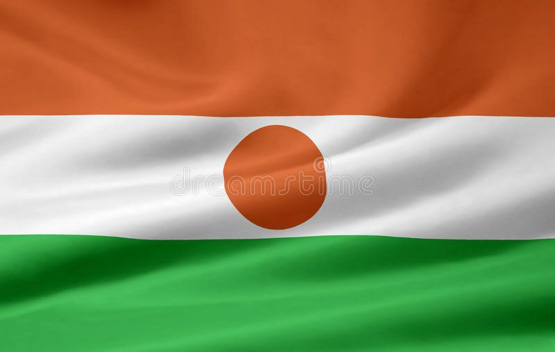 Flag Of Niger Very Large Version Of A Nigerien Flag Ad Large Niger Flag Flag Nigerien Ad Stock Images Free Flag Stock Illustration