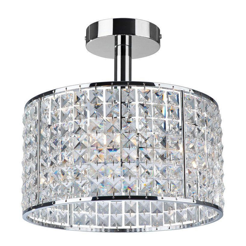 Bathroom Chandeliers Black crystal ceiling light for bathroom | the bathroom | pinterest