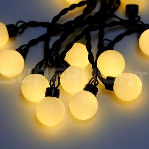 String Globe Lights Best Outdoor Led Globe Light String  Httpnawazsharif  Pinterest Inspiration