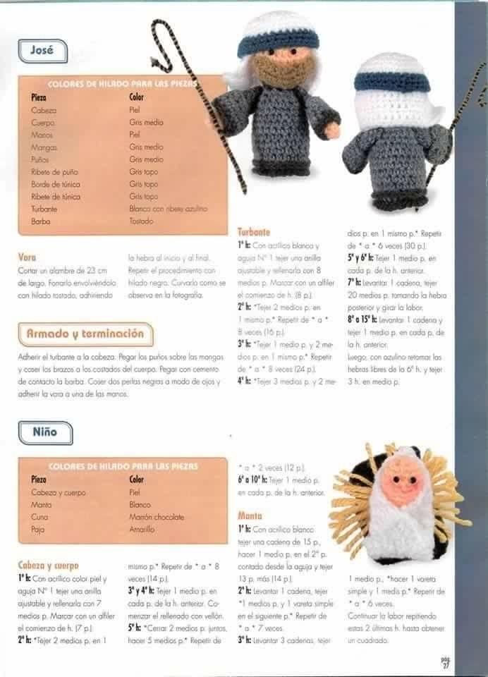 Pin de cuconamigurumi en Navidad | Pinterest | Belenes y Navidad