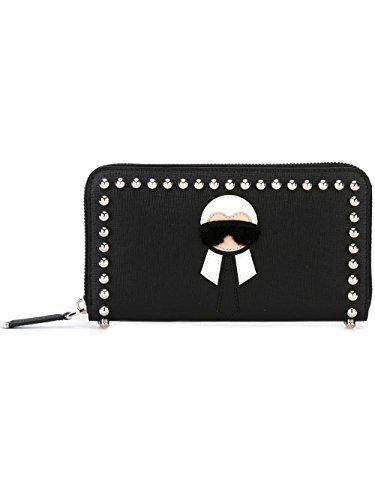 0a11855f63df promo code for fendi womens 8m02997mpf0v3x black leather wallet 48f4f 11e16