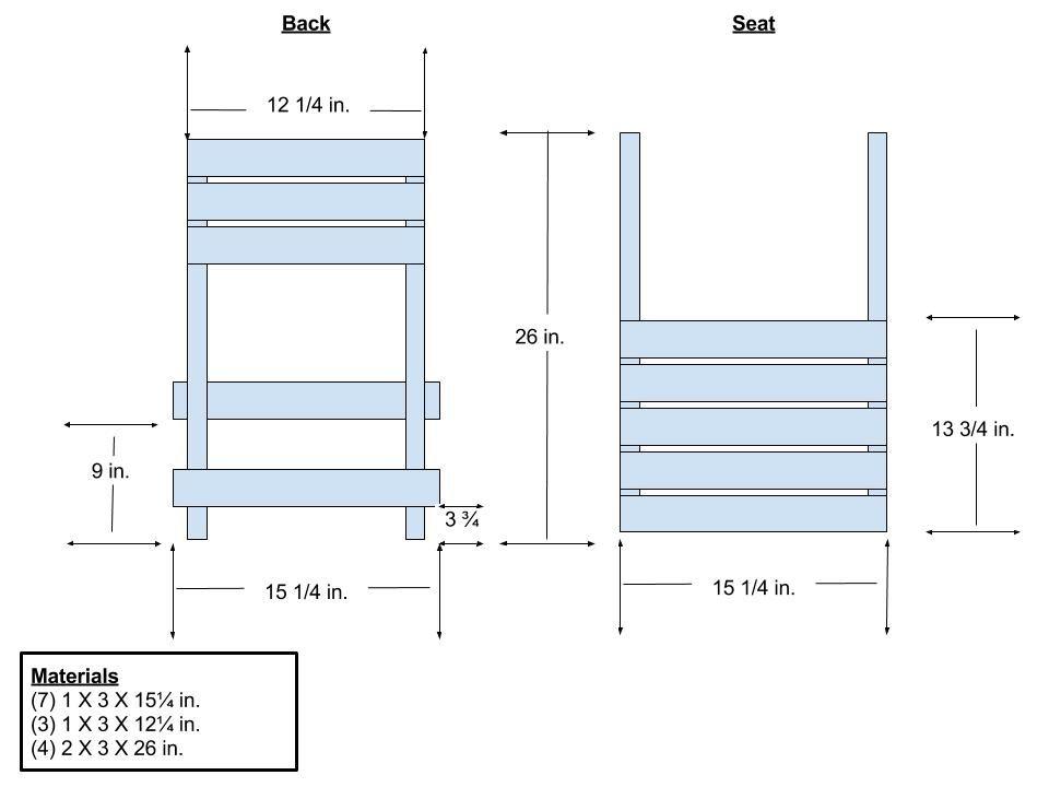 Portable Wooden Camp Chair Buildsomething Com Sillas De Madera Casas Para Pajaros Sillas Plegables