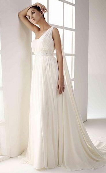 Vestido de novia modelo Atenea de #Innovias con corte recto, talle ...