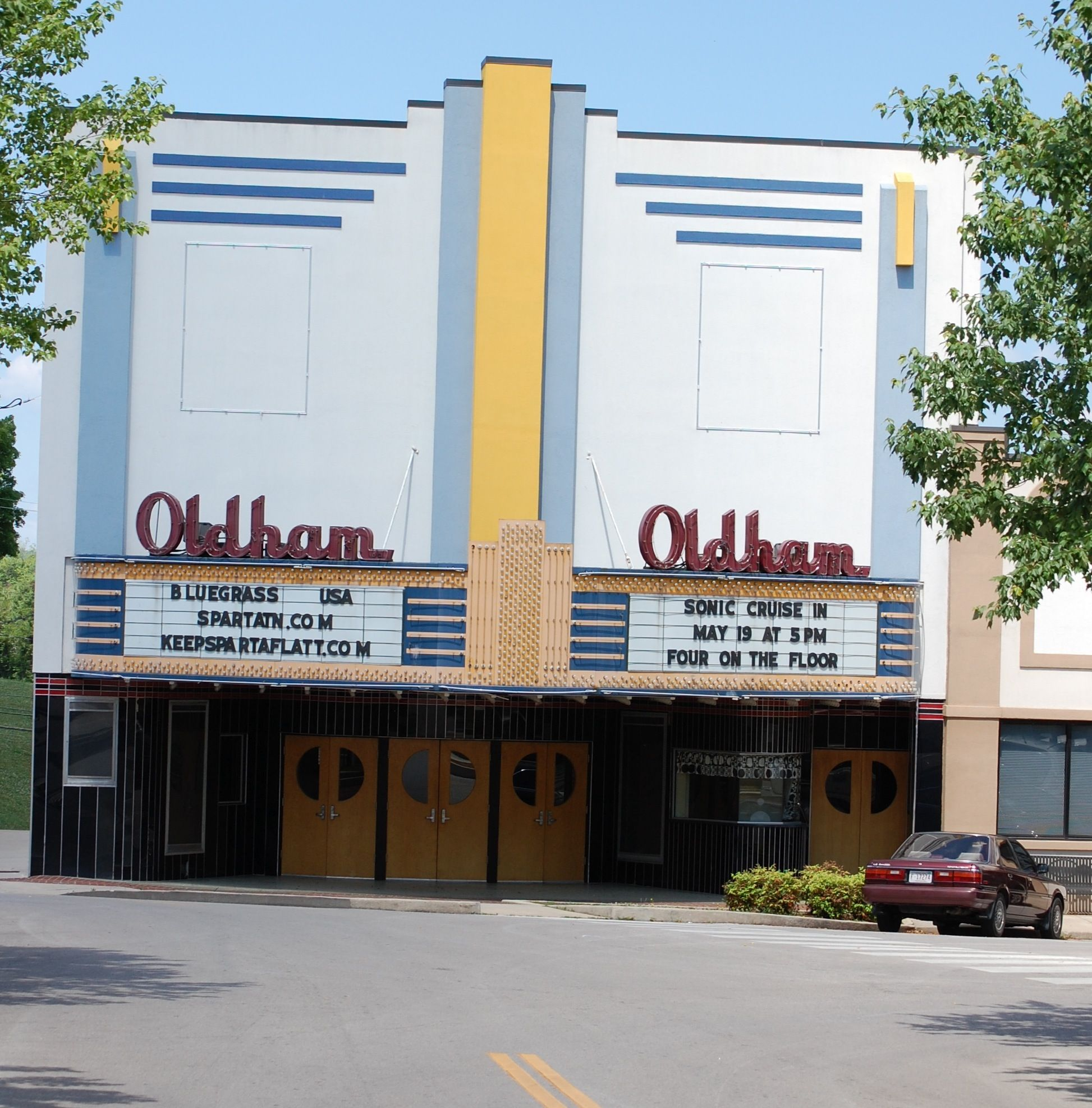 Country Music City Stock Photos Country Music City Stock: Oldham Theater. Sparta, TN City Square.