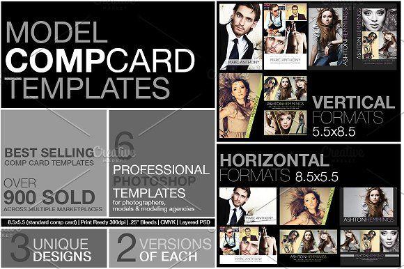Model Comp Card Kit Model Comp Card Card Templates Free Card Template