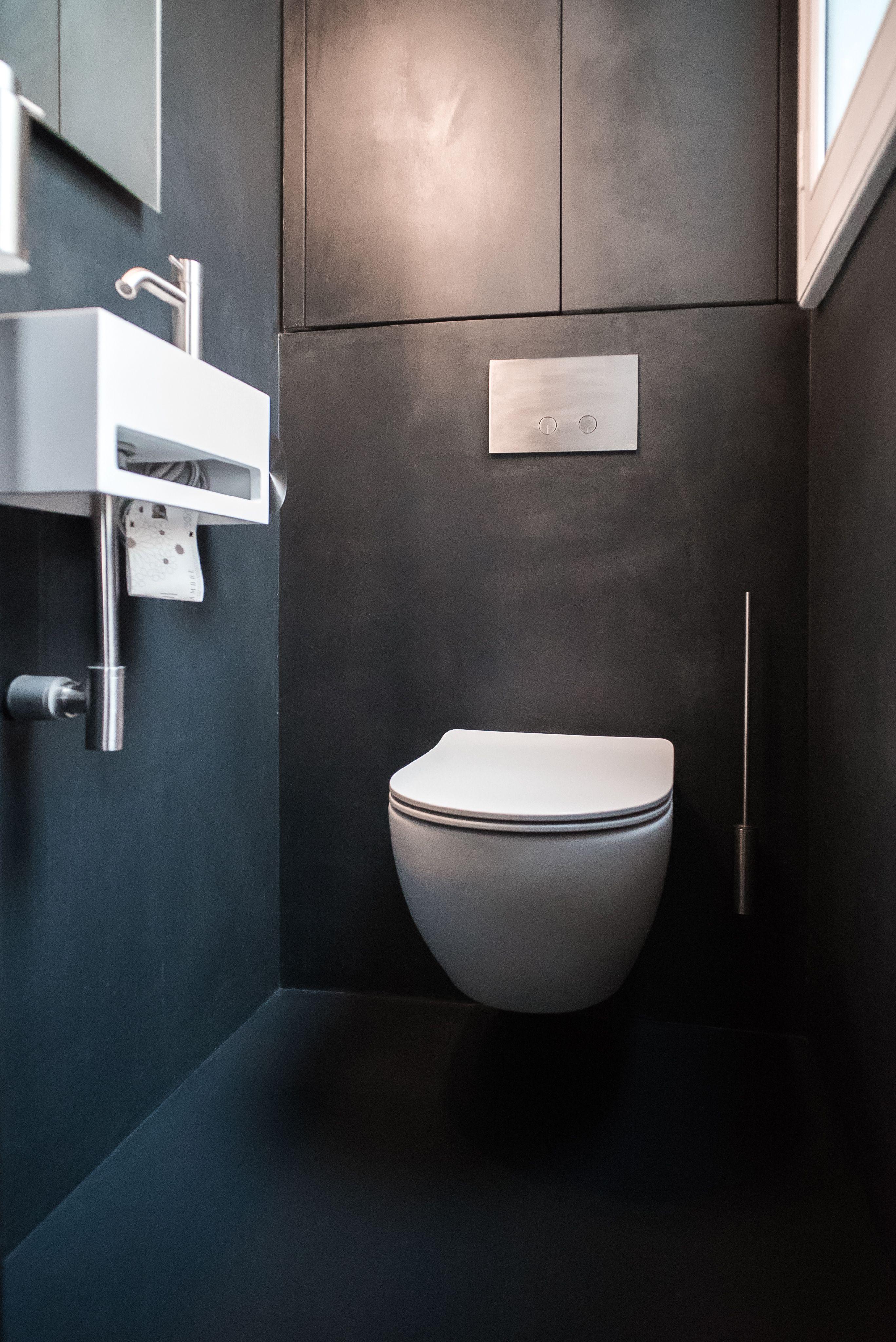 De La Resine Decorative Pour Un Elegant Appartement En Renovation