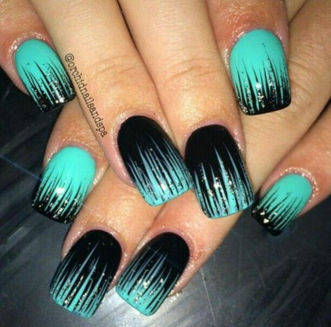 Love these nails! - Pin By Suzanne On Nail Designs Pinterest Nail Nail, Makeup And