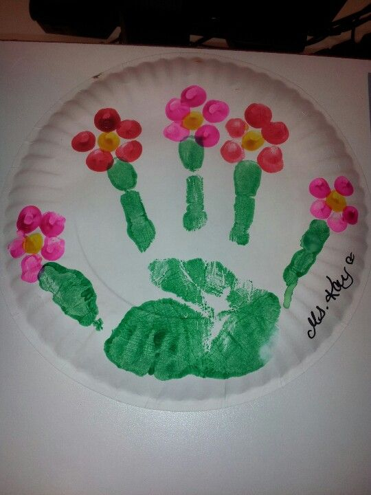 "Mother's Day, Hand, Flower, ""Thanks for always helping me grow!"""