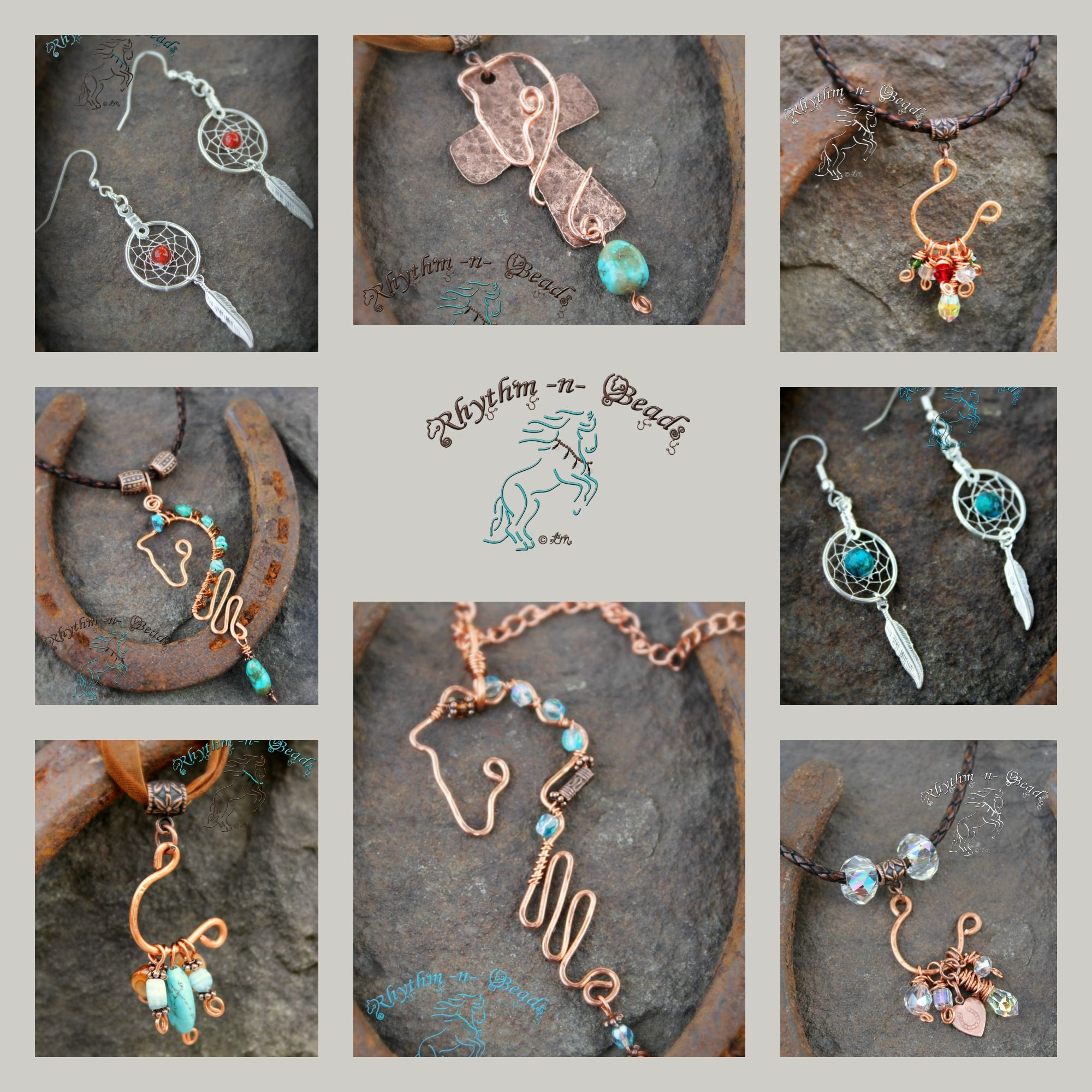 Jewelry for the horse lover, by rhythm-n-beads.com