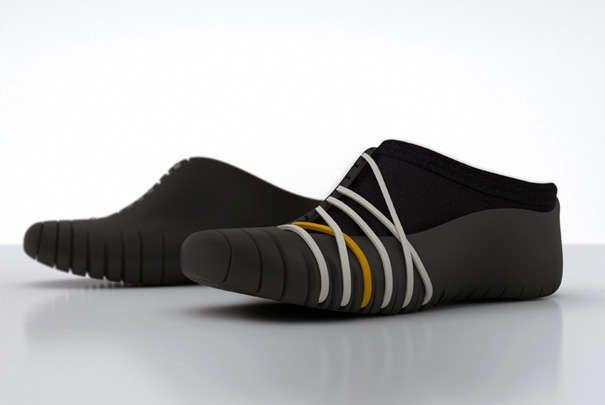 Wall-Climbing Kicks : 980 Tatou Shoe