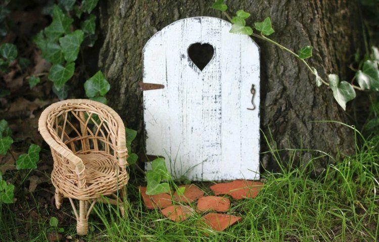 Décoration pour jardin à faire soi-même–porte de gnome décorative ...