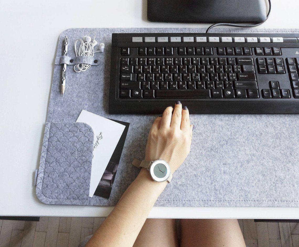 Large Desk Mat Desk Top Organizer Pad Laptop Mat Office Etsy Large Desk Desk Pad Desk Mat