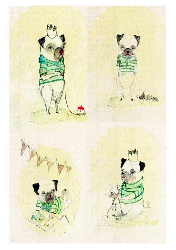 Eduardo, dog wall art, dog wall decor, Nursery Wall Art, Nursery ...