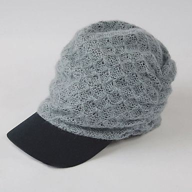 Women's Short Eaves Fashion Hat/Peak Cap(56-58cm)