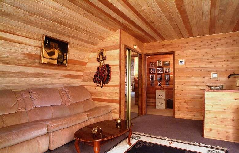 Cedar Bathroom Designs Interiors Log Cabin Paneling Cedar Paneling And Redwood Paneling Log Cabin Living Log Home Interiors Log Cabin Living Room
