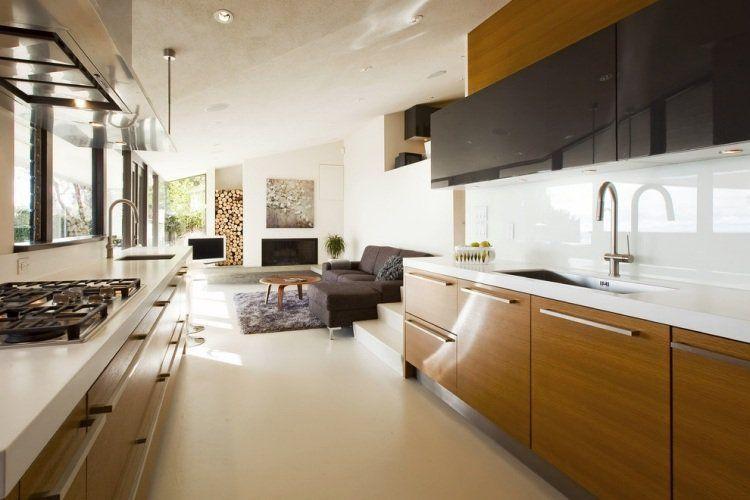 Plan de travail cuisine en blanc- quartz ou Corian? | Kitchens