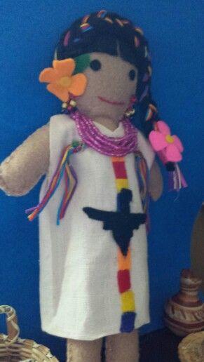 "Mi Linaje Mexicano doll making. ""Maria""  Maria Cristina Carreon"