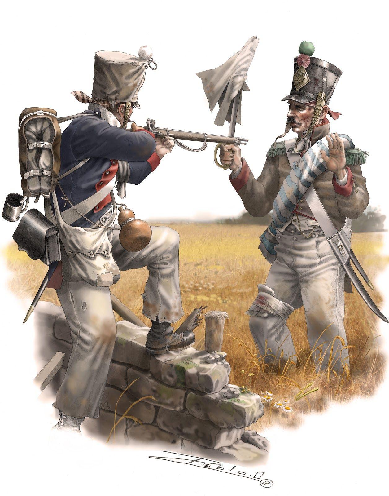 Картинки линейная пехота