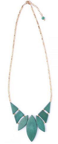 Indra Necklace -- Green