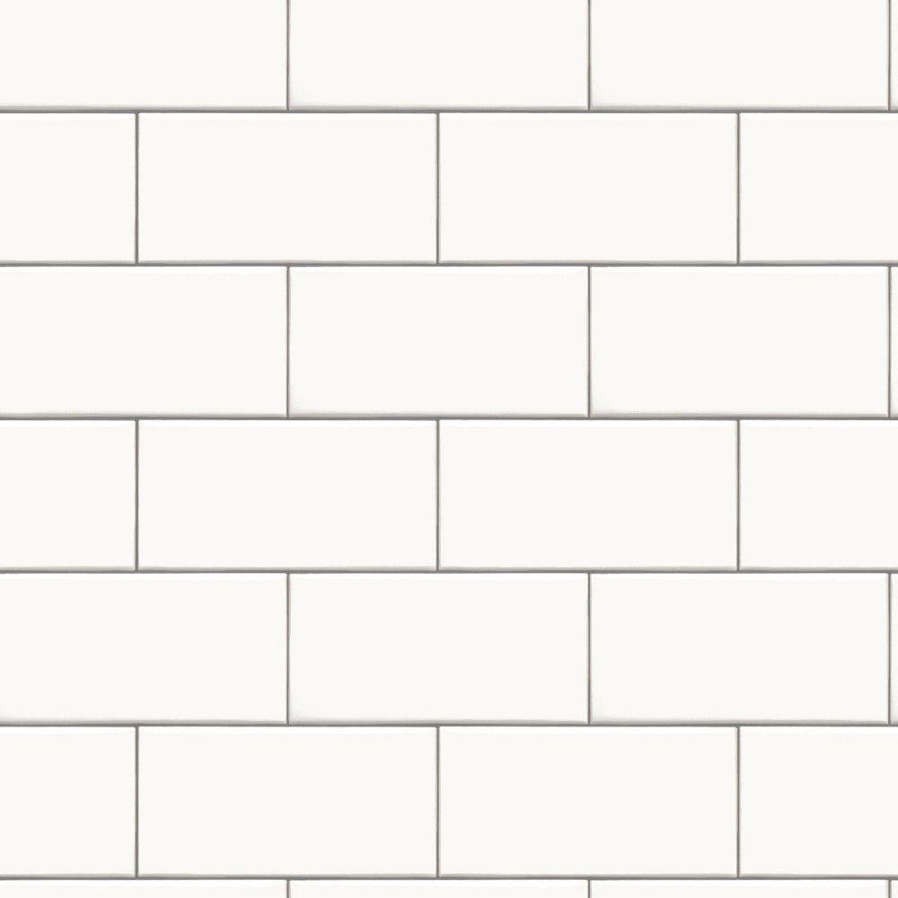 Subway Tile Peel Stick Wallpaper White Threshold Textured Subway Tile Textured Subway Peel And Stick Wallpaper